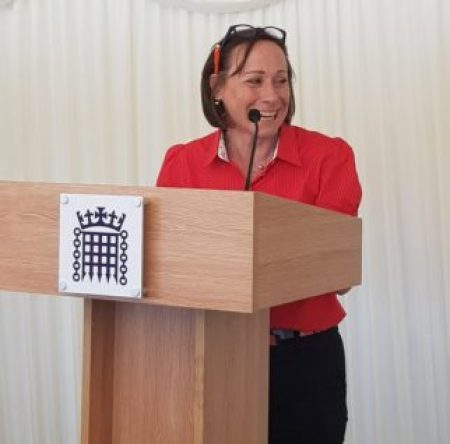 Rachel Kirkwood - Cycling UK Trustee at the launch of the Women's Cycling Festival 2019
