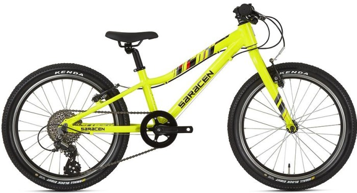 Saracen Mantra 2.0R in yellow