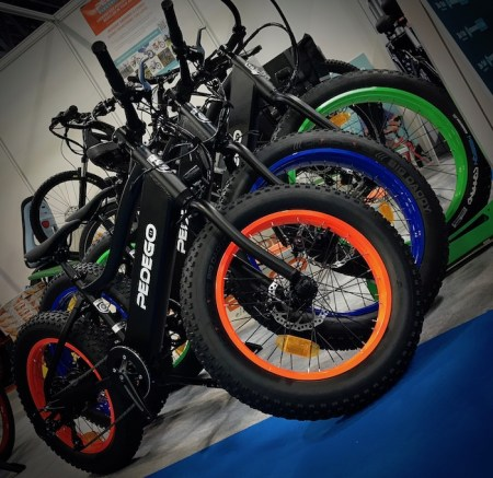 Cycle Show 2019 Pedego Fat Bikes