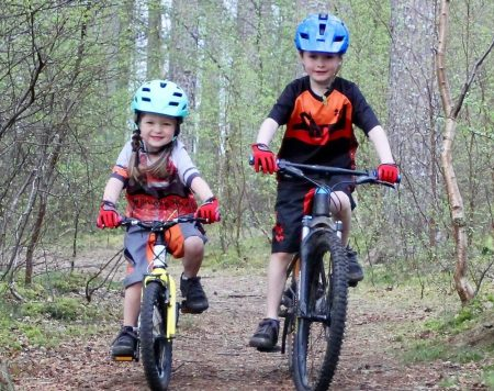 Kids mountain bike clothing