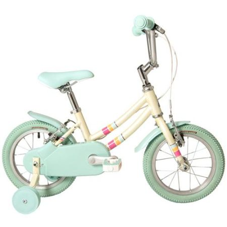 Pop 14 kids bike with stabilisers for a 4 year old