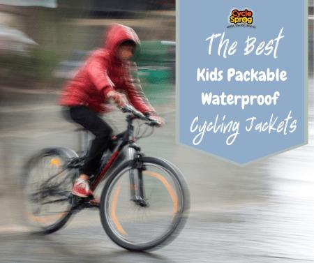 The best kids packable waterproof cycling jackets