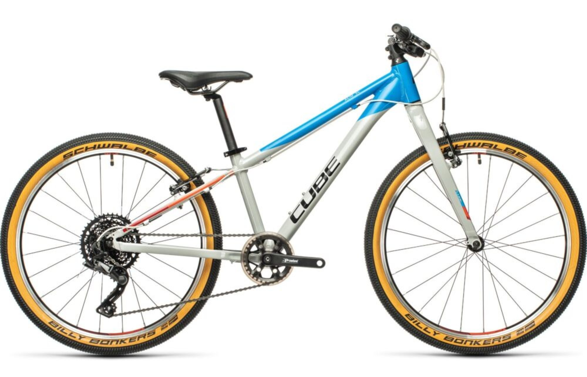 Cube Acid 240 SL 2021 - a lightweight racing Mountain Bike for a 7 year old keen mountain biker