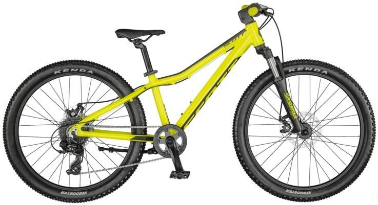 The Scott Scale 24 MTB is a great value entry level kids mountain bike for ages 8 years and over
