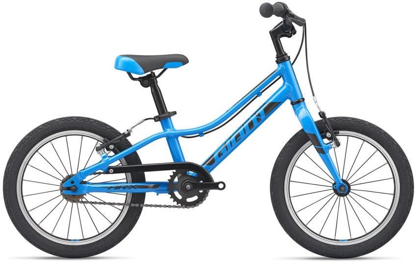 Giant ARX 16 is a great starter bike for a 4 year child. It comes in a range of colours. You can read our impressions of the ARX kids bike range on the Cycle Sprog website