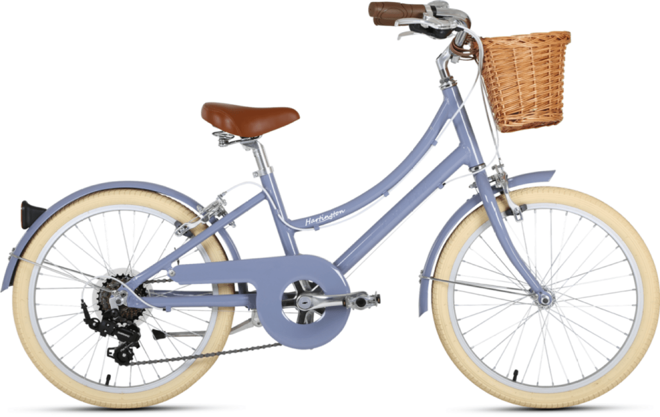 Hartington 20 girls step through city bike with basket and kickstand