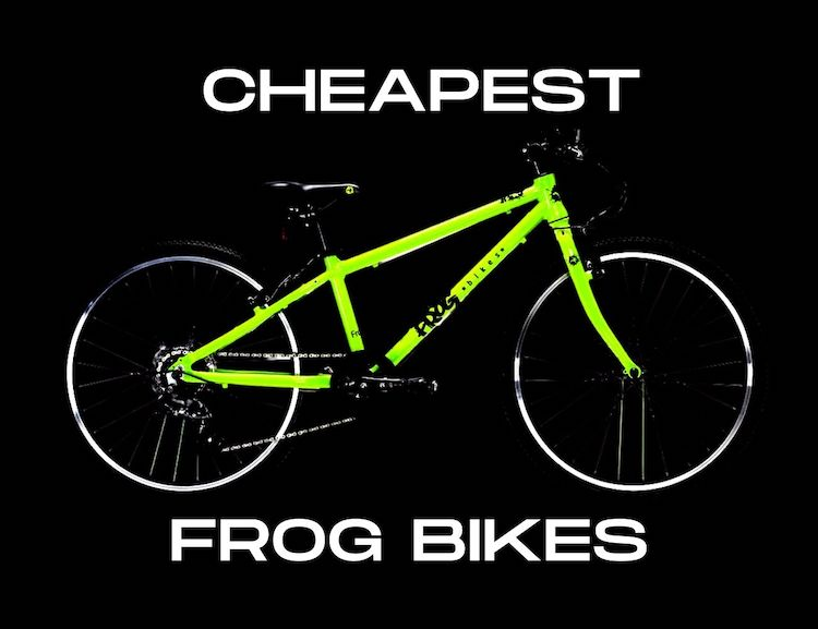 Where to buy the Cheapest Frog Bikes