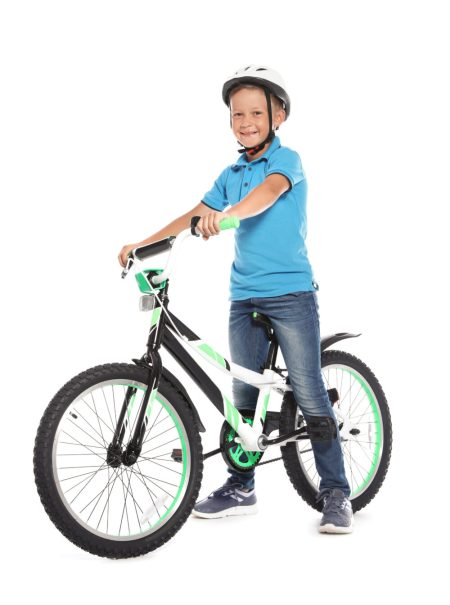 How to position the saddle on a kids bike - novice rider