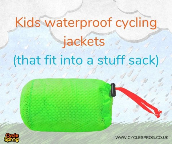 The best kids cycling jackets that pack down small