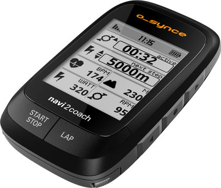 o-synce Navi2coach GPS Velocomputer