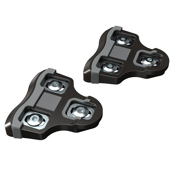bePRO Black cleats 0° float