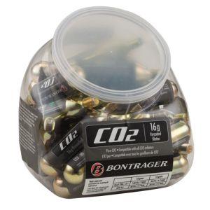 Bontrager CO2-Patrone 16 g mit Gewinde (30er-Dose)