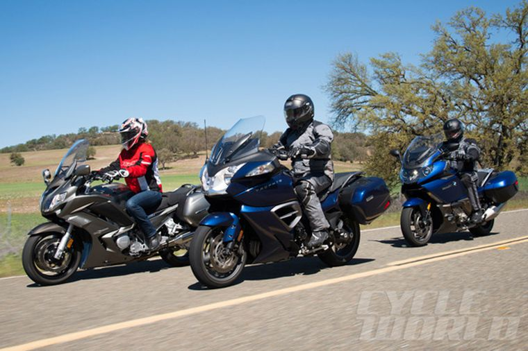 Sport Touring Motorcycles Comparison
