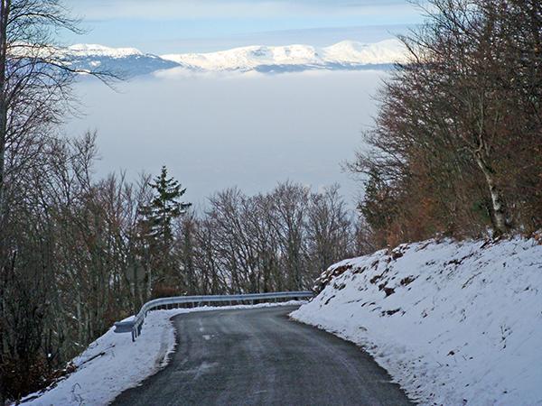 Juras:  Descending towards Geneva
