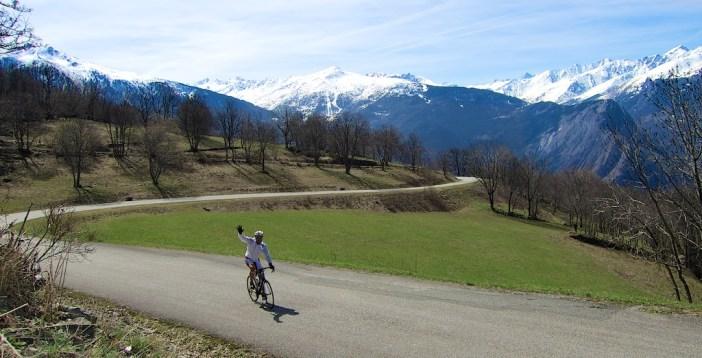 Above Col de Beau Plan