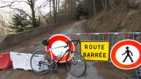 Turn off to Col d'Albanne