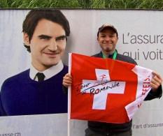 I met Roger Federer