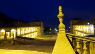 Lower Courtyard at Night