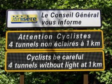 4 Unlit Tunnels