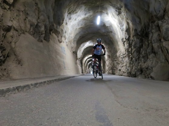 Tunnel to Tseuzier dam