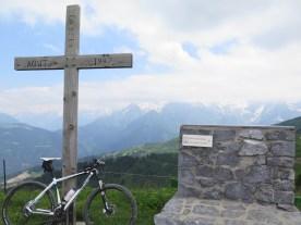 Atop Mont Joux