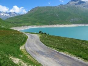 Superb side road to Col du Petit Mont Cenis