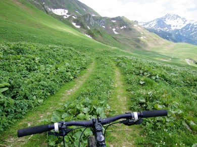 Trail to Col du Couvercle