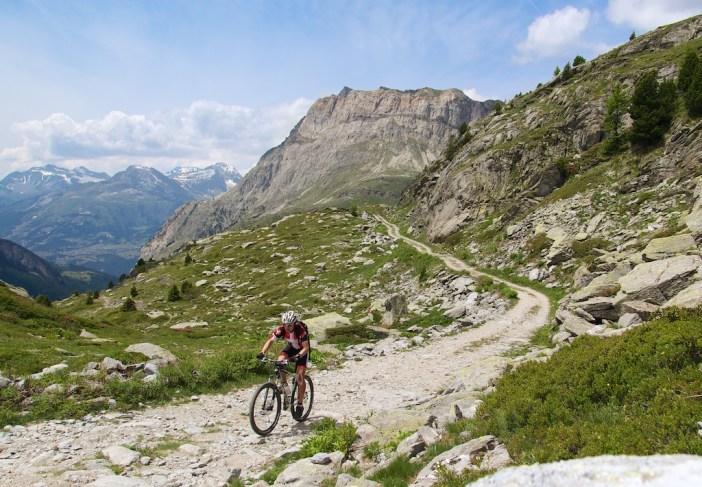 Heading to Col de Clapier