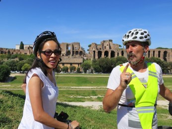 Our Guide at the Circus Maximus