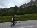 Dark. Below Passo Tre Croci