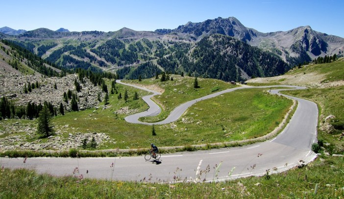 French side of Col de la Lombarde