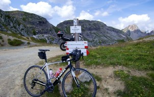 Colle del Vallonetto - 2447 metres