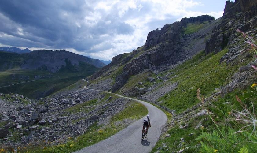 Descending to Colle Valcavera