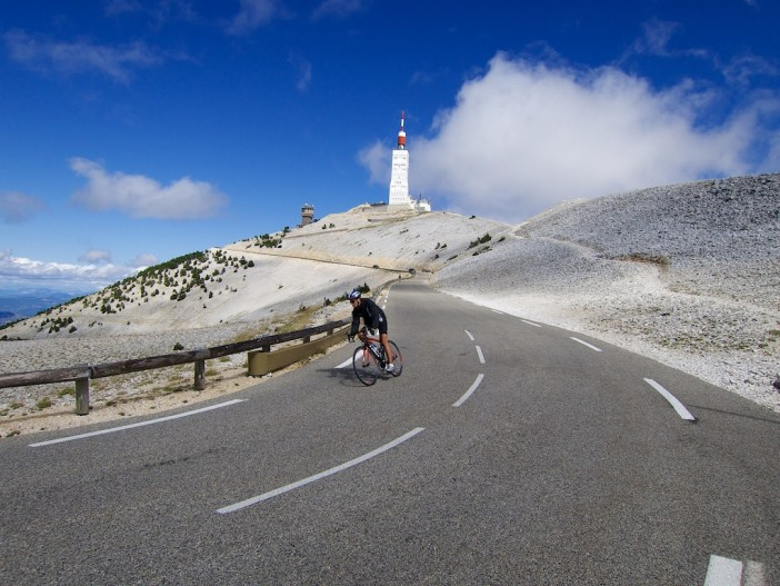 Maulacène side - near summit