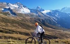 Glacier du Tour behind