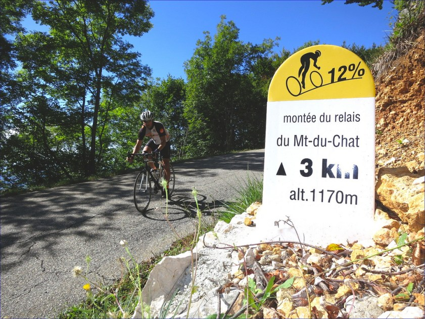 Poulidor summited before Merckx here
