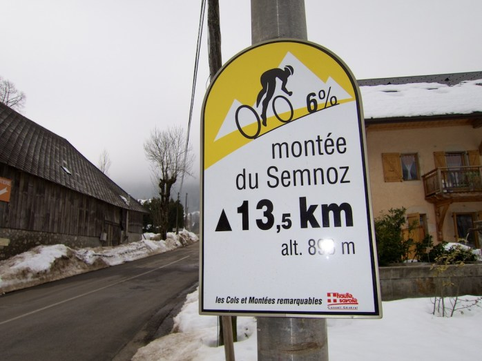 Descended this side. Taken at Col de Leschaux still a long way to go