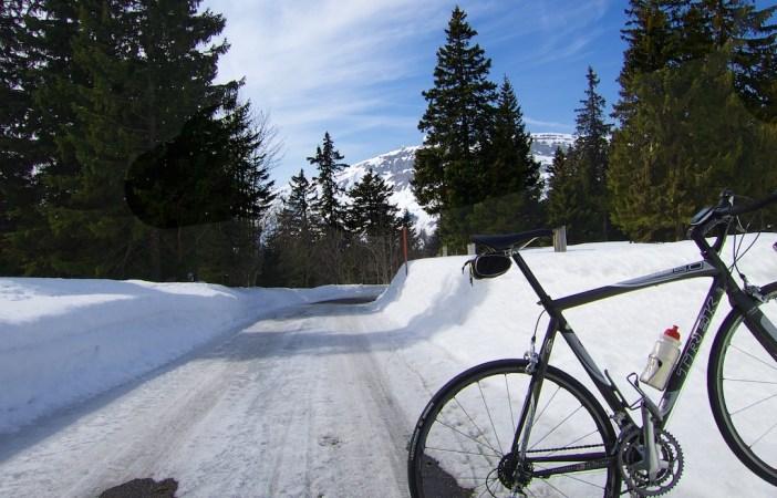Near summit - only icy stretch