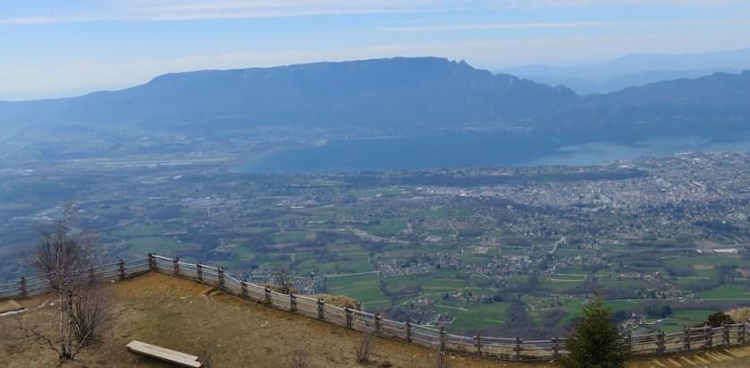 Lac du Bourget and Mont du Chat