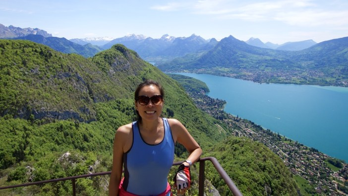 Mont Veyrier and Lake Annecy