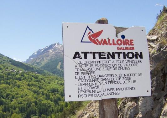 Avalanche warnings