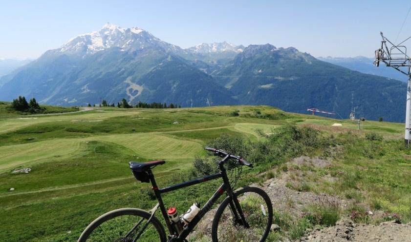 High altitude Golf course