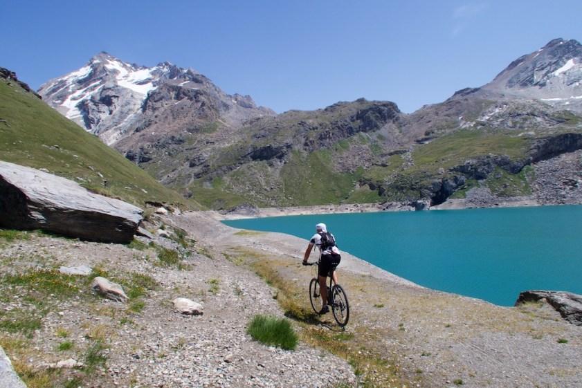 Lac de la Sassière