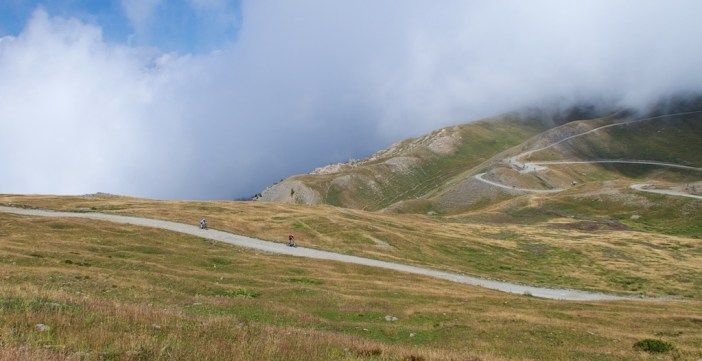 Colle dell'Assietta below