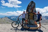 with Jens. Highest paved road in France