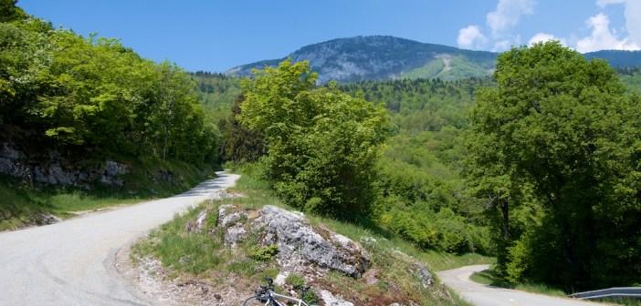 Bauges Massif Three Col Loop
