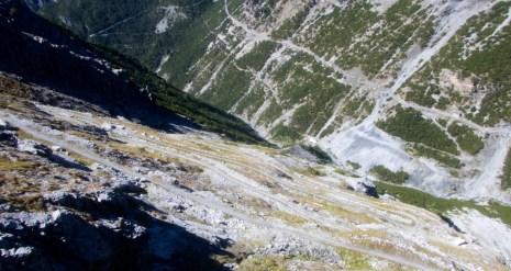 Road to Bocchetta di Pedenolo