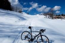 Descending Col de Plan Bois