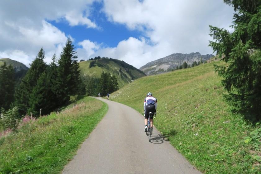 Col de Mittelberg  -                              final climb