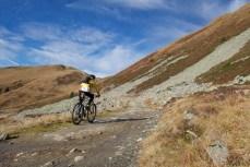 Col de Balme ahead